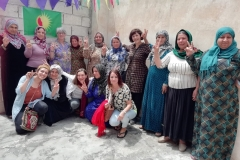 Women send strength and power from the uk to defend Rojava