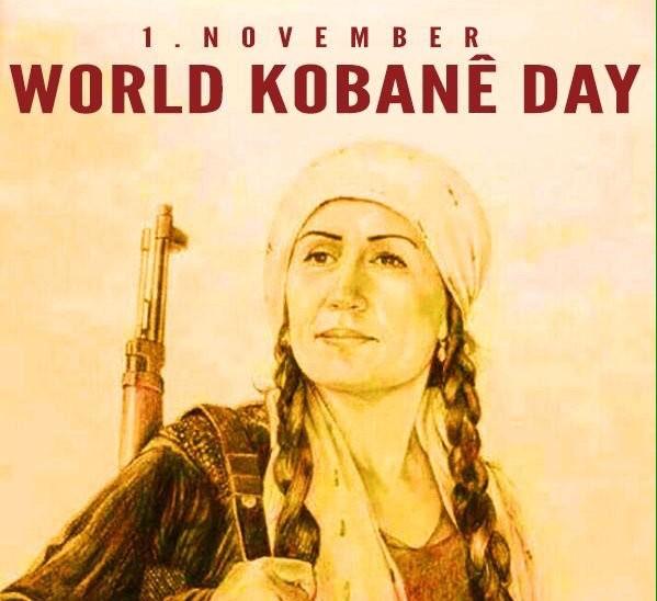 1st November - World Kobanê Day - Women Defend Rojava